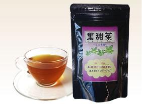 黒甜茶で花粉・アレルギーに強い身体に